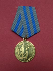 Награда для учебного центра Успех Киев - медаль «Трудова слава» ll степени